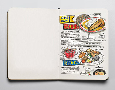 Food Journal : Ramadhan edition (personal project)