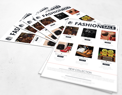 Fashion Black Friday Flyer