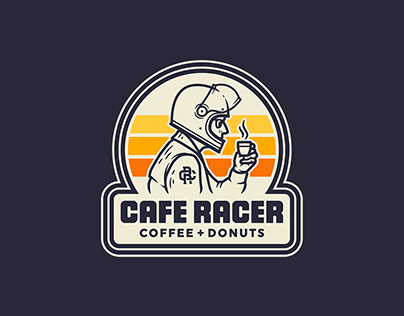 CAFE RACER · COFFEE + DONUTS