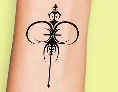 aries + pisces tatoo design