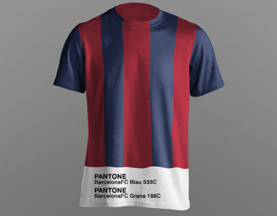 Pantone Football jerseys makeover