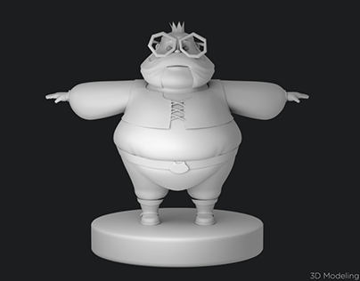 King - Turn around, 3D Modeling