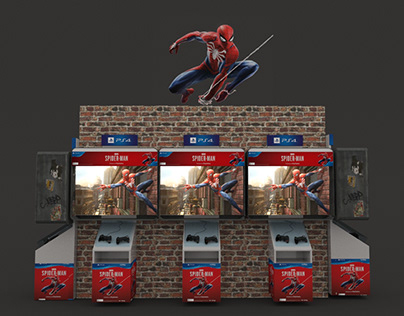 Interactivo + Activación Ps4 Spiderman