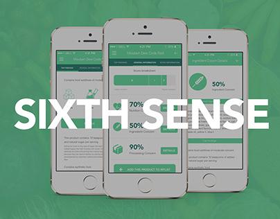 Sixth Sense Food Checker - App Concept