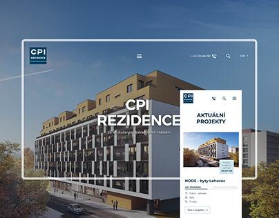 Website Design: CPI Rezidence