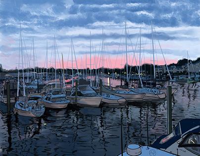 Milford Harbor, Connecticut ,