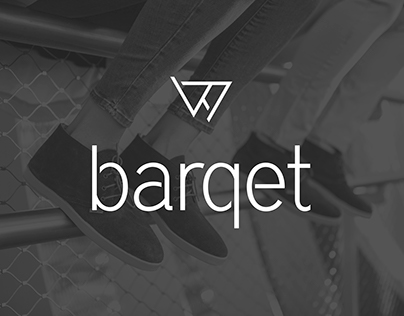 Art direction. Branding. Graphic design. Barqet - shoes