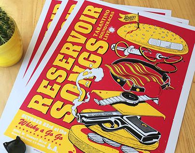 Reservoir Songs Poster