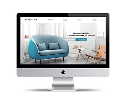 Fredericia Furniture - Redesign af website