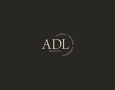 ADL Reception logo creation & brand book