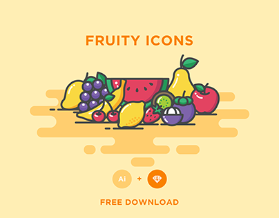 FREE - FRUITY ICONS