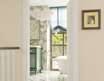 Traditional style en-suite