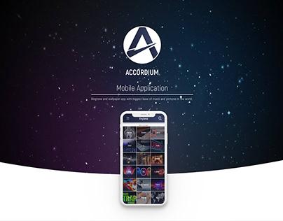 UX/UI Design - Mobile App | Accordium