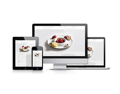 Jean Georges - Restaurant Website Redesign