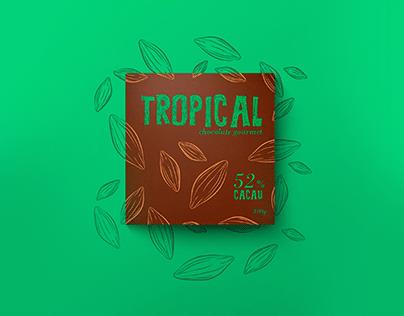 Tropical Chocolate Gourmet - Identidade e Embalagem