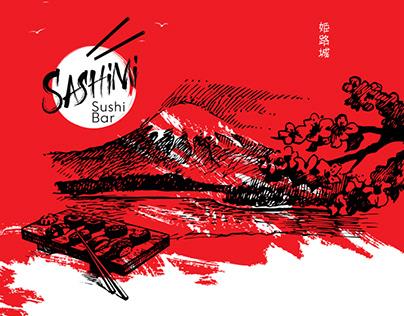 Sashimi Sushi Bar - Identity
