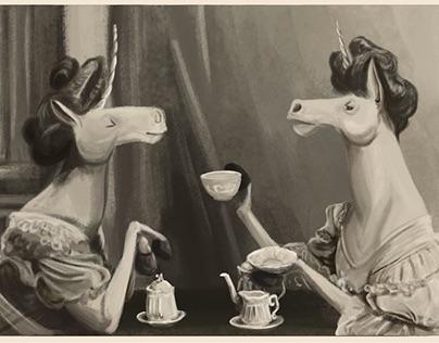 Distinguished Portraits for Illustrious Unicorns