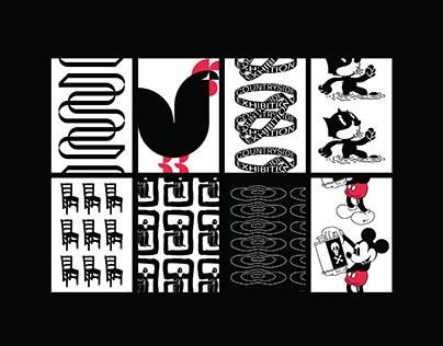 Graphic Design & Illustration - Countryside Exhibition