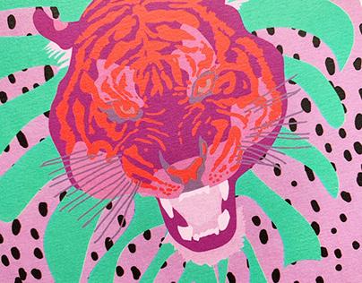 Lilac Tiger