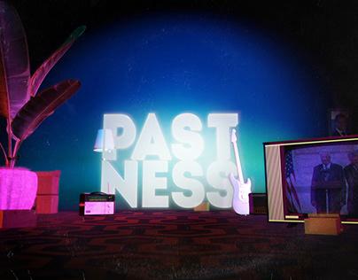 PASTNESS album artwork and motion design