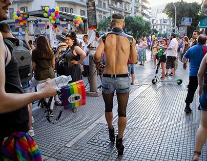 Pride parade 2019, Thessaloniki, Greece