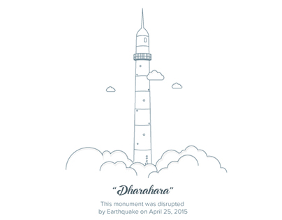 "In the memory of ""Dharahara"""