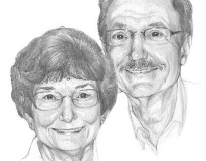 Portrait of My Aunt and Uncle