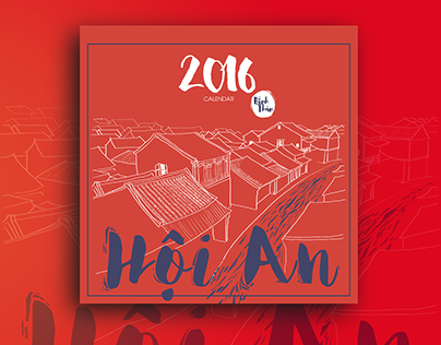 Hoi An Ancient Town Calendar 2016