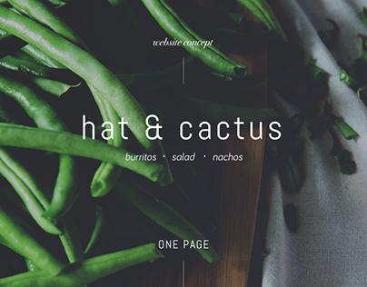 Hat & Cactus