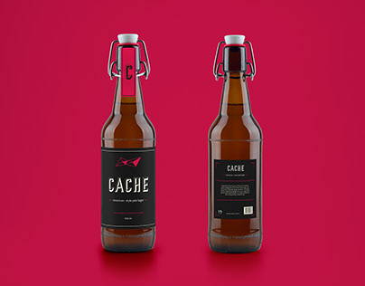 Cache | Secret bar branding & packaging