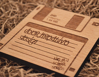 Floppy Disk wooden coasters