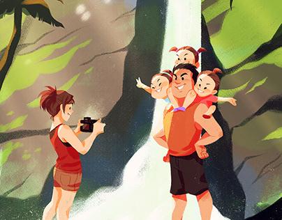 Family Vacation - TARA NA! Zine