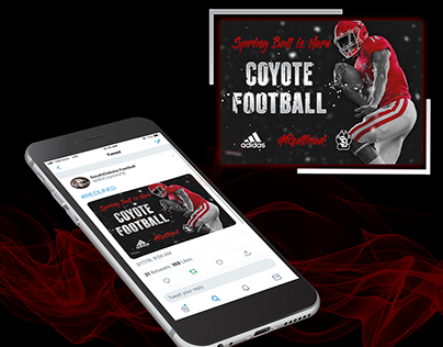 Coyote Football Graphic 2018-2019