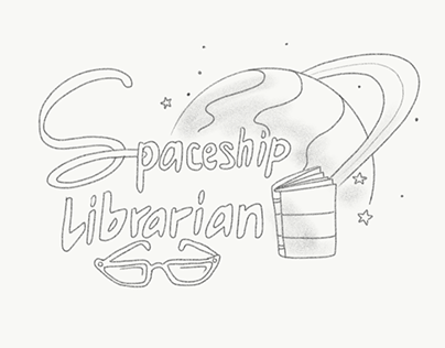 Spaceship Librarian - Character Design & Concept Art