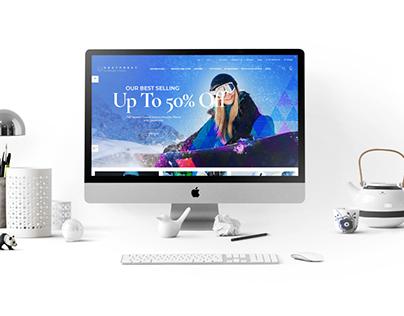 Snow Skating Woocommerce Website