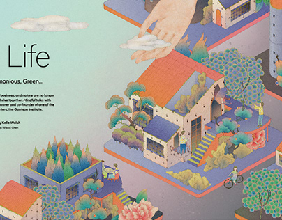 city life for Mindful mag
