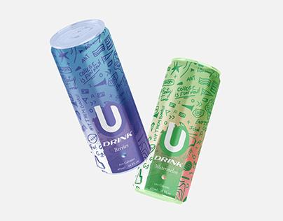 U Drink - Brand Packaging