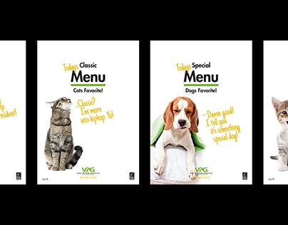 Vital Petfood Group. Brochures