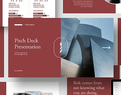 Pitch Deck Presentation Template