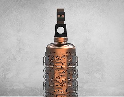 Massager Bottle designed for The Lab Design Studio