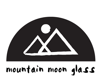Mountain Moon Glass Logo