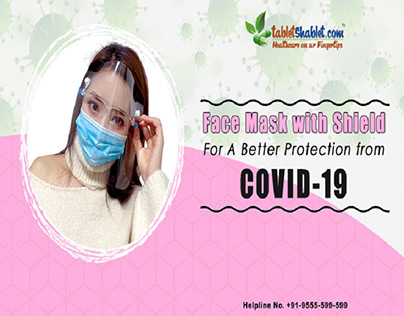Face Mask with Shield: Better Protection from Covid19