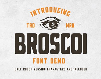 FREE | Broscoi Vintage Type