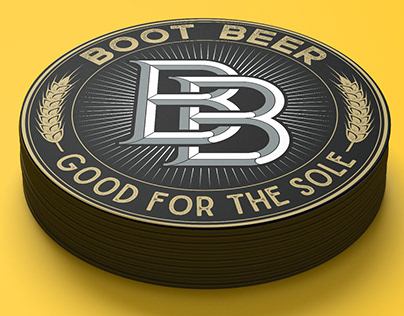 Logo redesign for Boot Beer Brewery