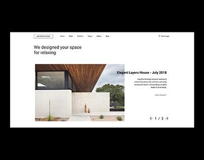 Architecturer - Interior Designer, Architect Portfolio