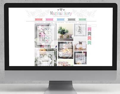 Magical Story / Rebranding & Website Relaunch