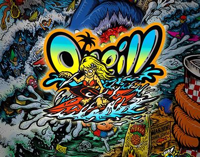 O'neill surf poster
