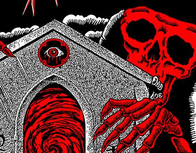 Ghostemane - Euro/Russia Tour Poster