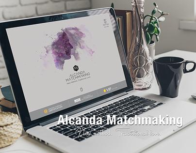 Alcanda Matchmaking - Diseño y desarrollo web