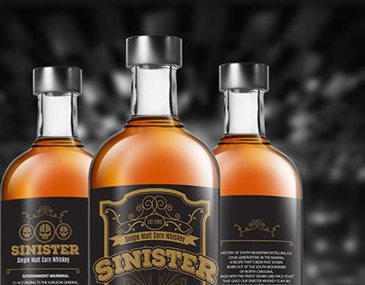 Whiskey Label Packaging Design